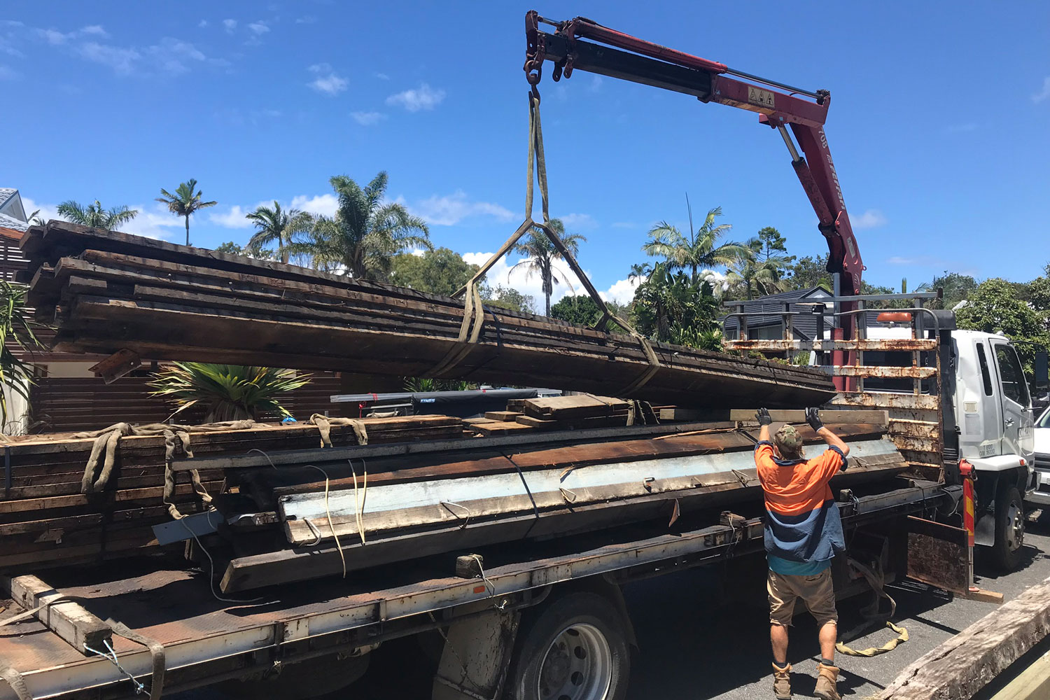 local delivery of hardwood timber mullum timber