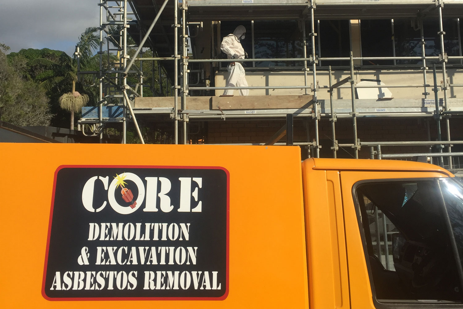 asbestos removal core demolition brunswick heads