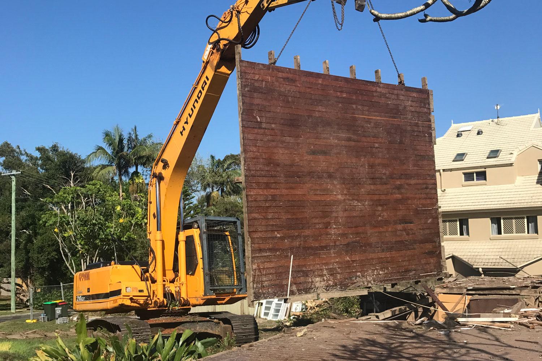 salvaging hardwood flooring core demolition