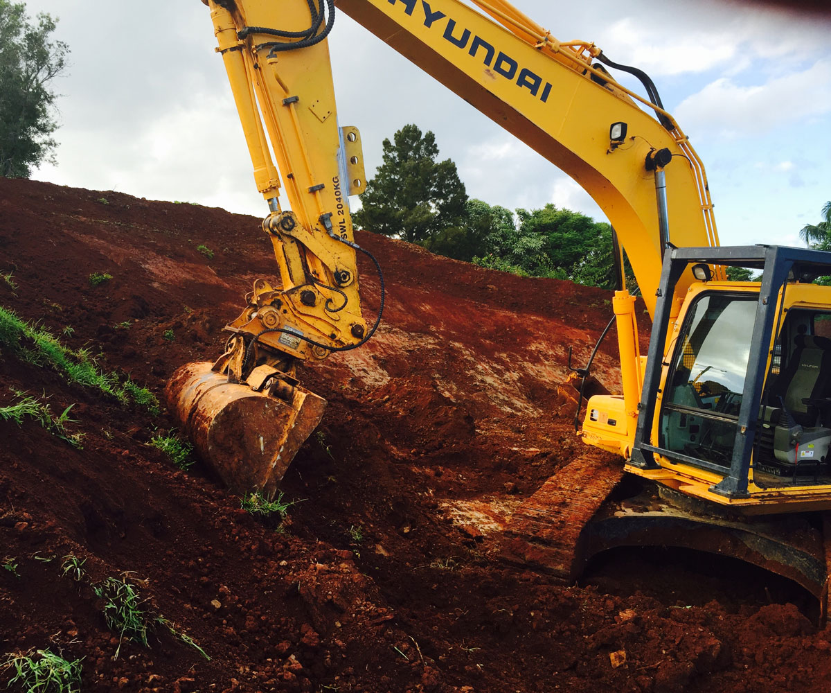 excavation services core demo