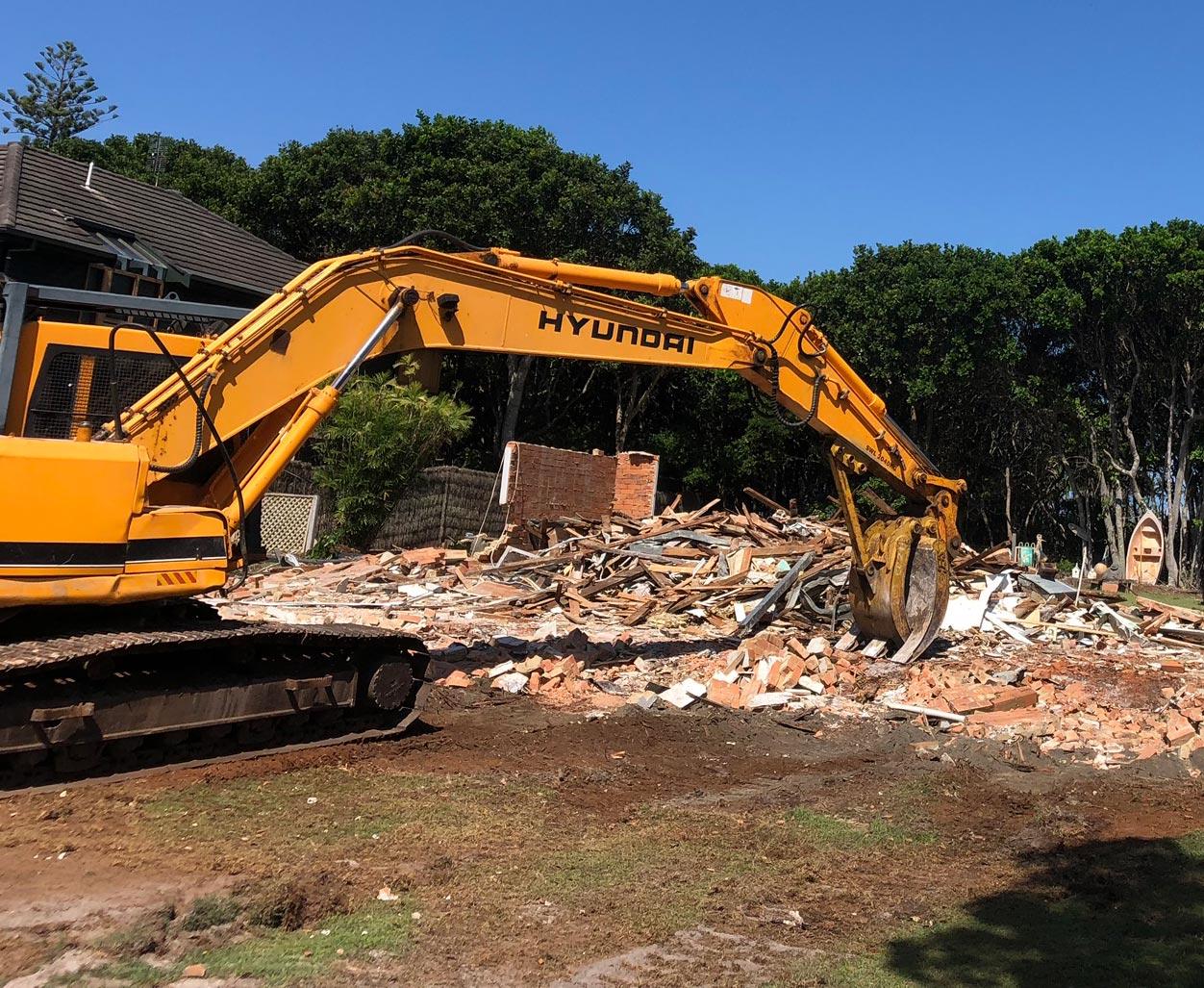 house demolition core demolition